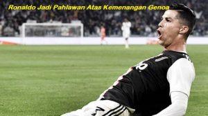 Ronaldo Jadi Pahlawan AtasKemenangan Genoa