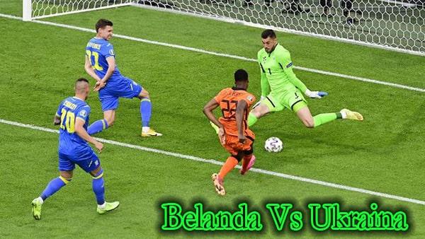 Hasil Pertandingan Belanda Vs Ukraina Euro 2020