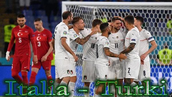 Klasemen Grup A Italia - Turki